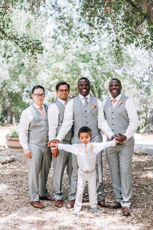 Alan + Nicole: Rancho Santa Ana Botanic Garden Wedding