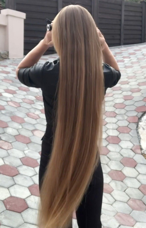 Video Elegant Blonde Part 1 In 2020 Long Hair Styles Hair Styles Long Thin Hair