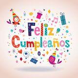 Feliz Cumpleanos   Buon Compleanno In Testo Spagnolo   Scarica tra