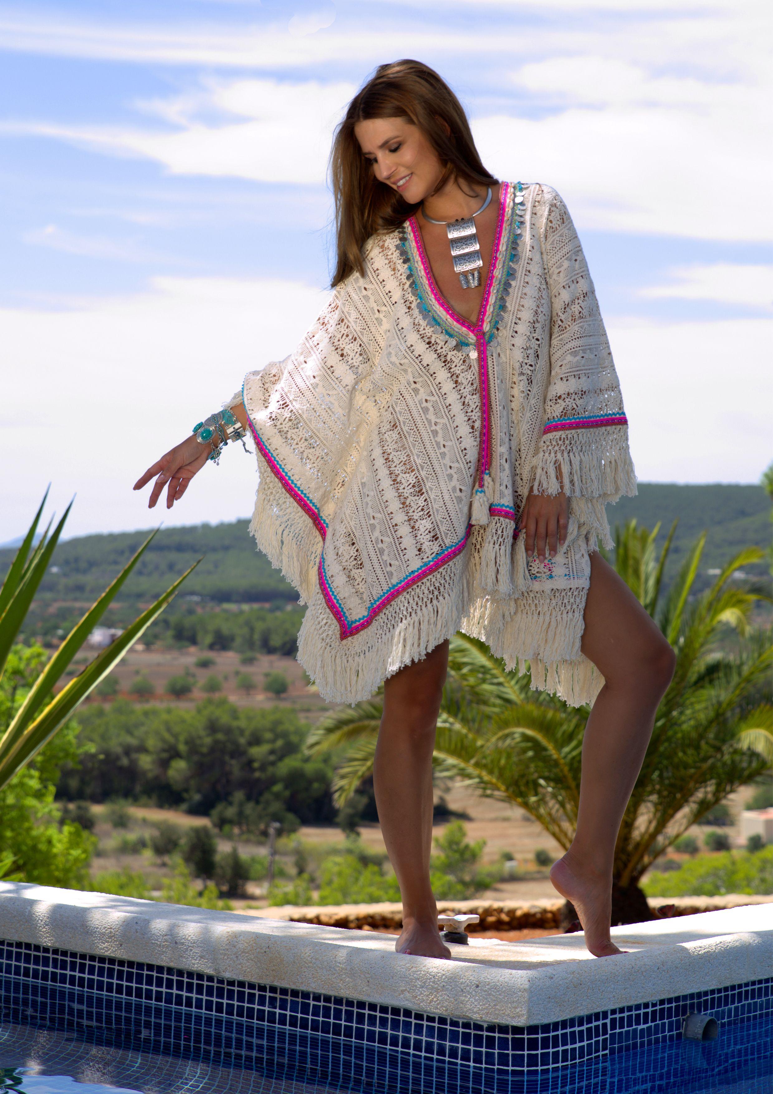 Ponka Poncho by Nizhoni | boho | Fashion, Bohemian lace ...