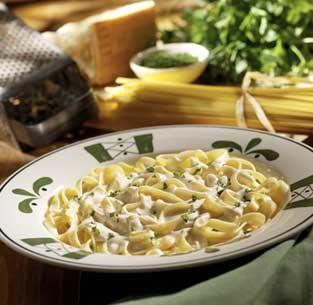 olive garden fettuccine alfredo copycat recipe - Olive Garden Fettuccine Alfredo Recipe