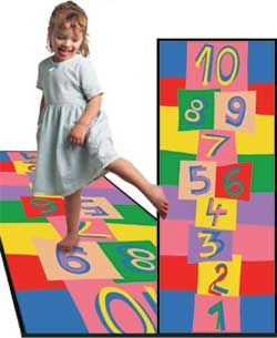 Hopscotch Rug Kids Play Carpets