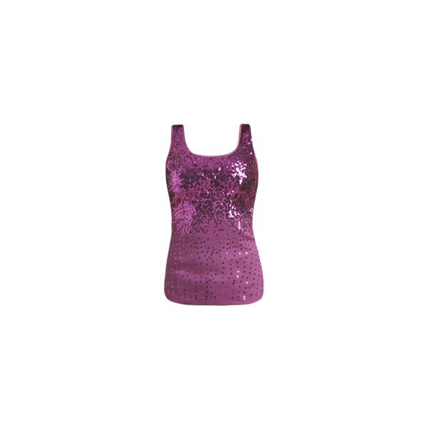 c949f4d2fc6bdd Sequin Cascade Tank - Teen Clothing by Wet Seal ( 40) ❤ liked on Polyvore