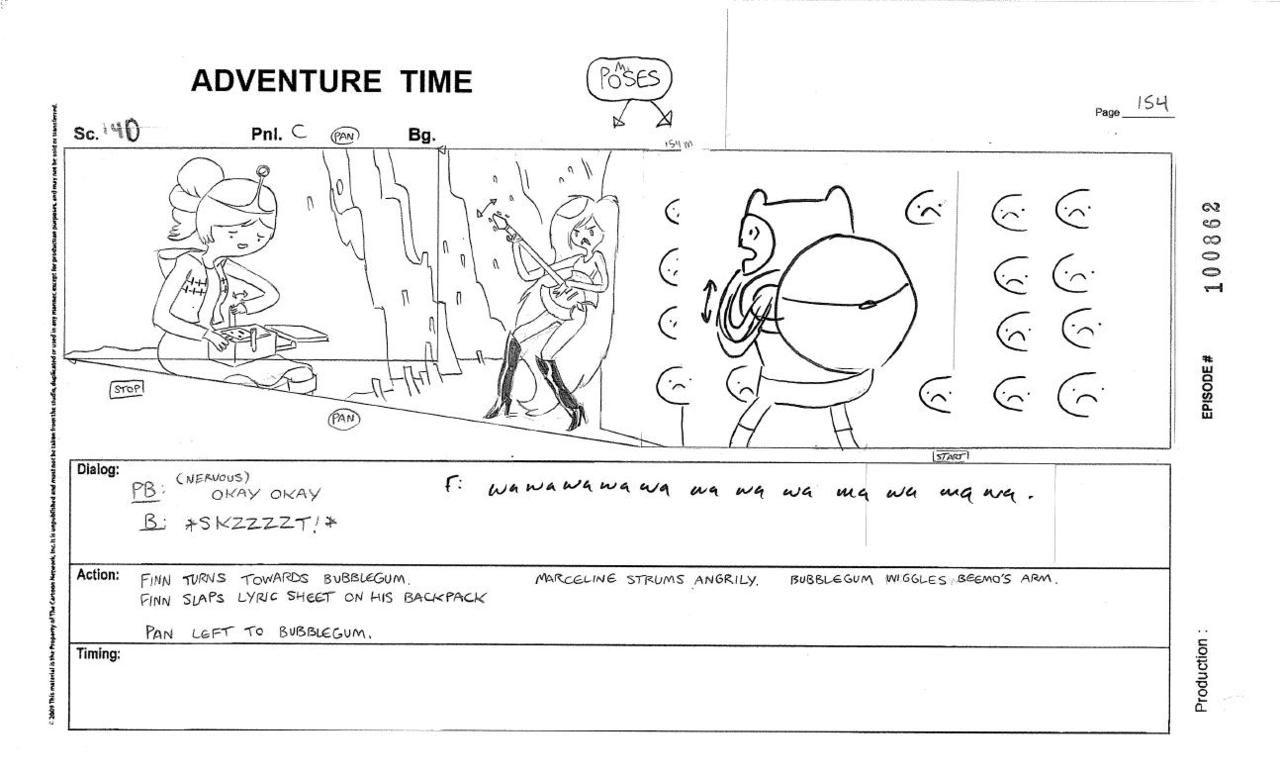 Resultado De Imagem Para Storyboard Adventure Time  Storyboarding
