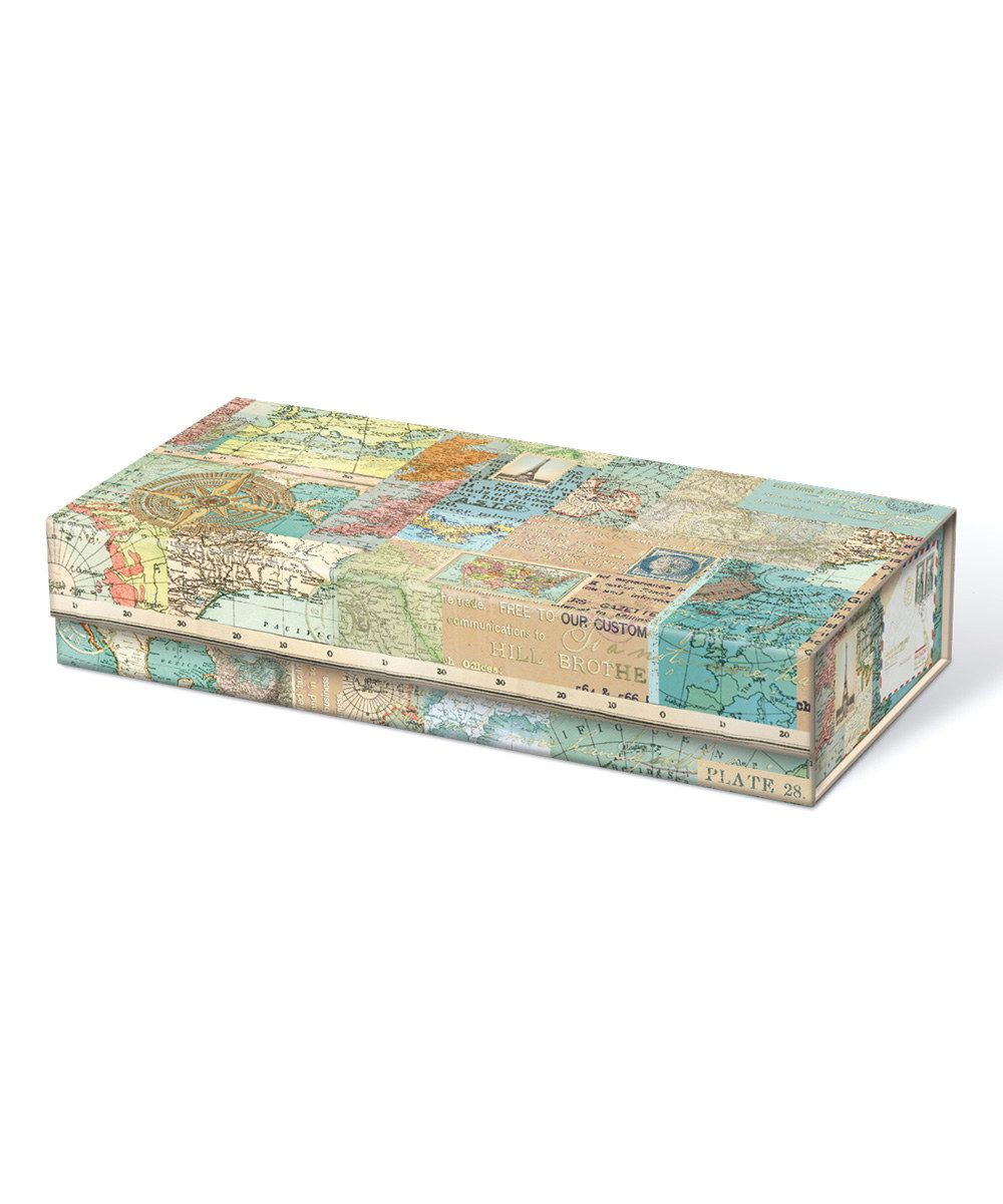 Look at this World Atlas Pencil Box on #zulily today!