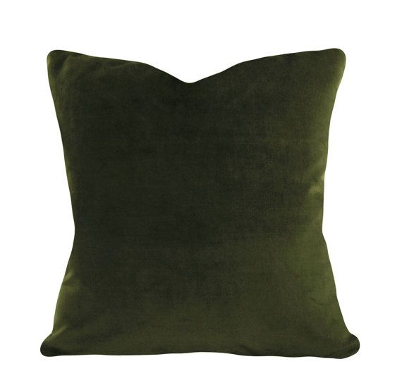 12X20 Pillow Insert Amazing Green Velvet Throw Pillow Cover  Decorative Pillow  Both Sides Decorating Design