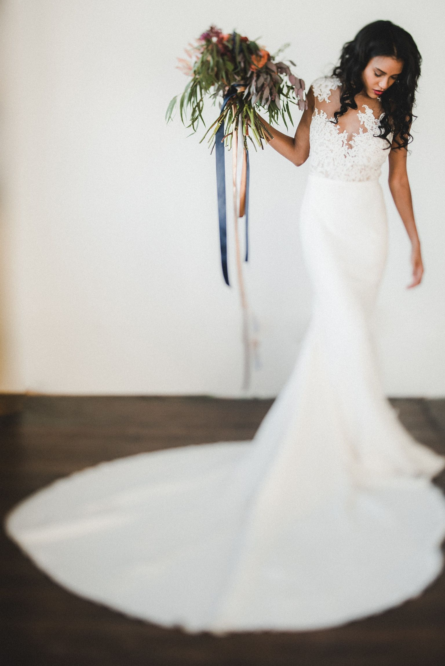 The Gorgeous Pronovias Vicenta Gown Available At The White Room