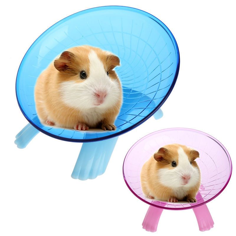 4 98 Running Disc Flying Saucer Exercise Wheel Toy For Mice