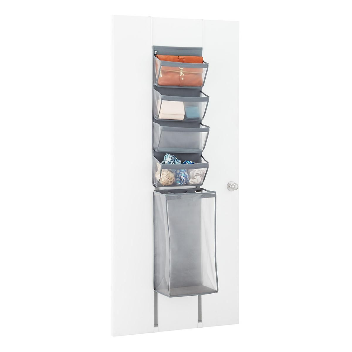 Our Enfold Overdoor Organizer by Umbra gives you four gusseted ...