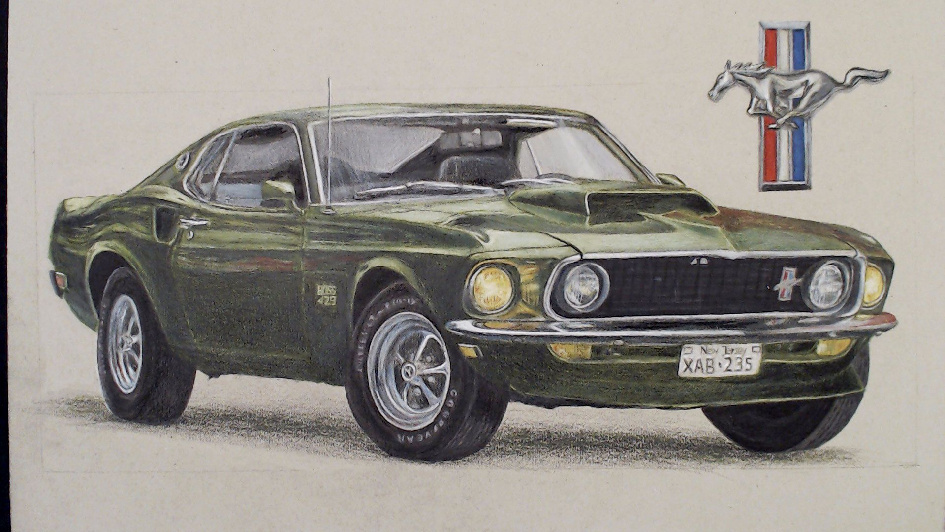 John Wick S Mustang Drawing Tutorial Easy Drawing And Learning Check Out My New You Tube Art Channel Draw2night Mustang Drawing Mustang John Wick Mustang