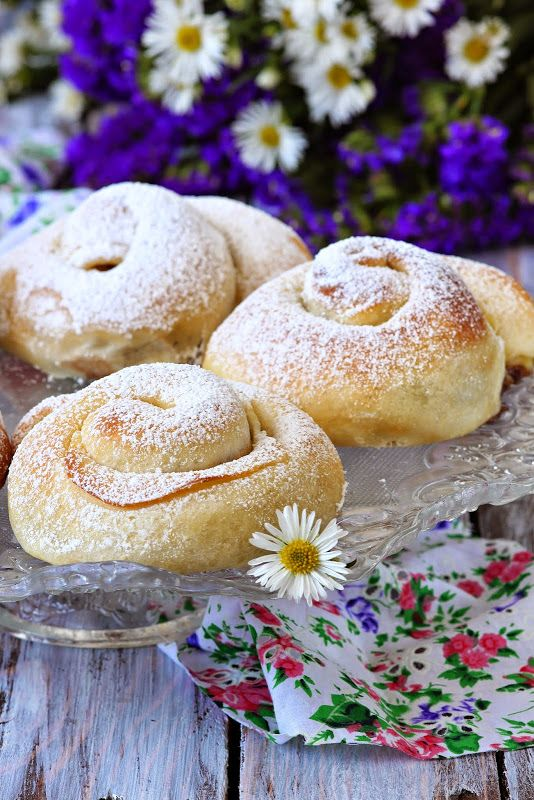 """Сладкий мир - Испанские булочки """" Ensaimadas"""""""