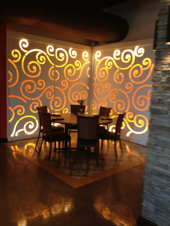 Colletti S Italian Restaurant In Harlingen Tx Family Owned At The Reese Boasting A Stylish Dining Room Outdoor Patio