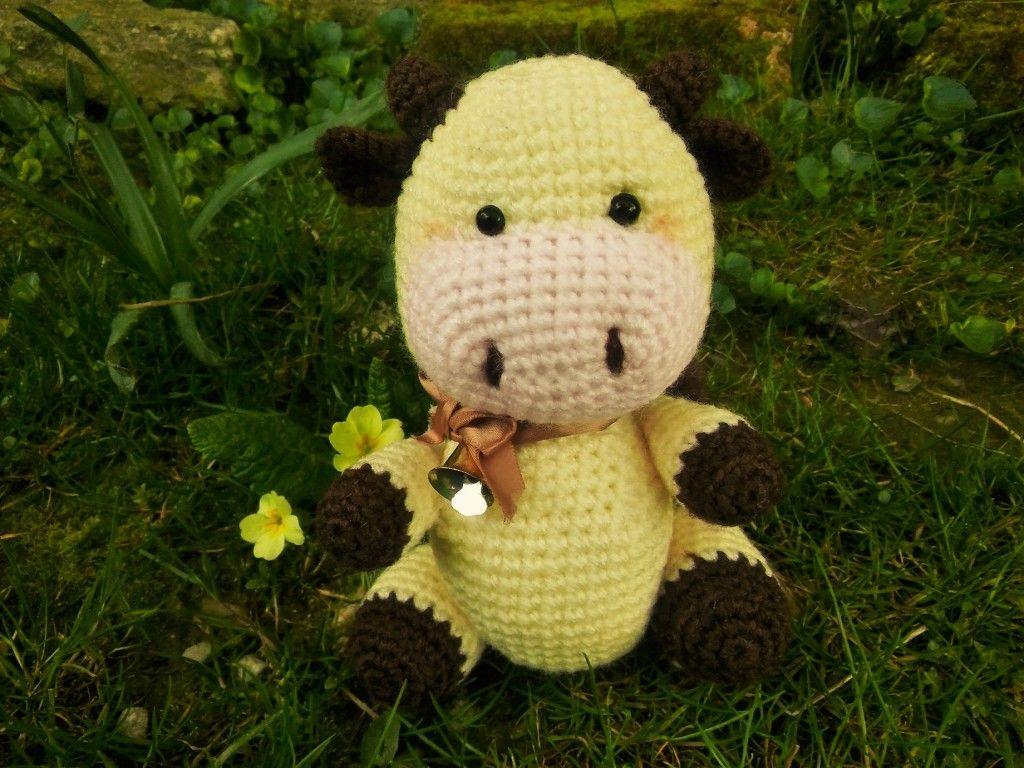 Easy Amigurumi Crochet Patterns For Beginners : Cute cow free amigurumi crochet pattern. easy amigurumi for beginner