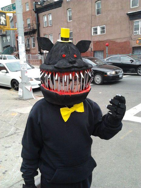 FNAF 4 Nightmare Costume | Halloween Costumes | Scary halloween