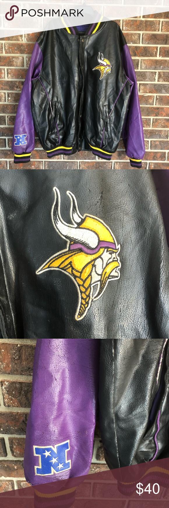 Nfl Minnesota Vikings Letterman Jacket Letterman Jacket Jackets Nfl [ 1740 x 580 Pixel ]