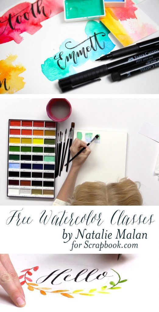Painting With Watercolors For Beginners Watercolor Supplies