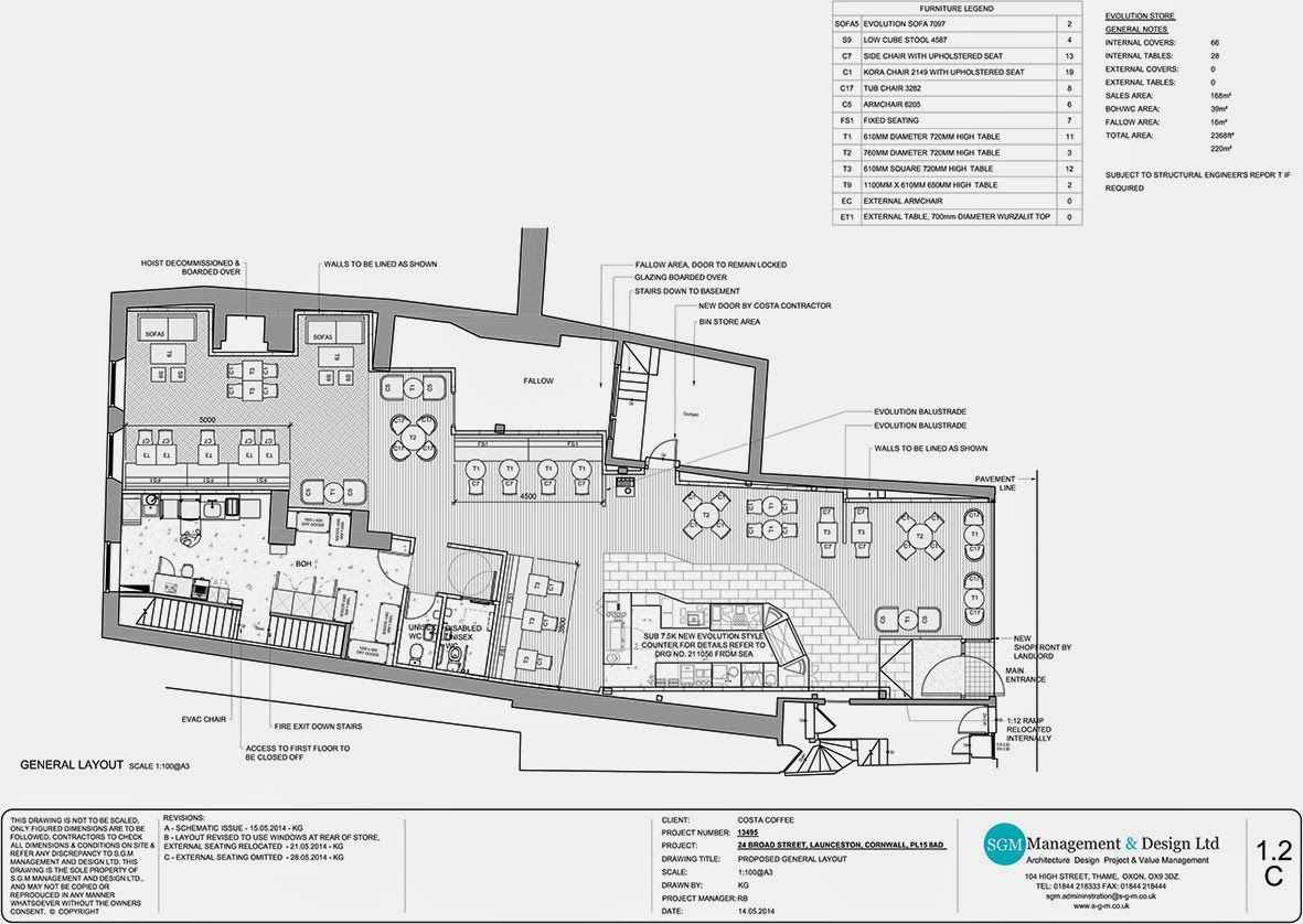 Costa Cafe Plans