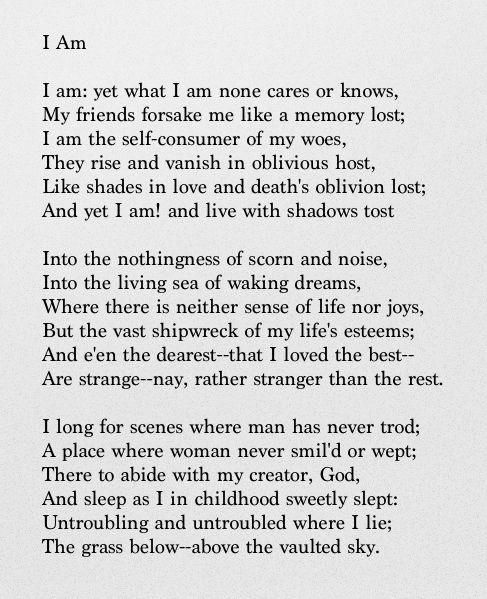 living in the shadows poem