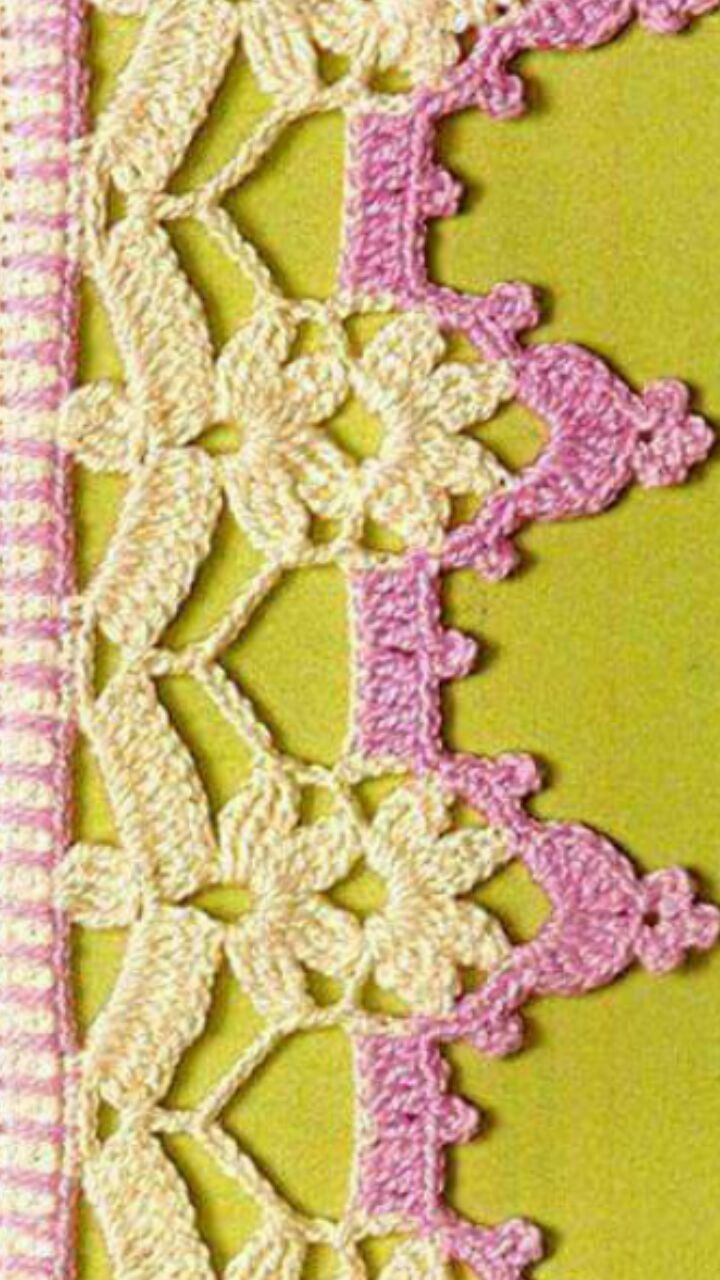 Pin By Kemal Yldz On Yeni Pinterest Crochet Crochet Edgings