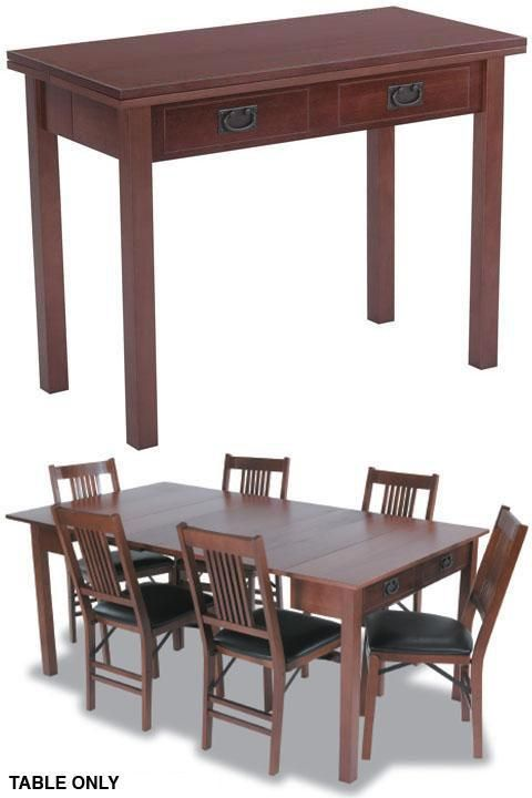 fold up dining room tables | Expandaway Combination Dining Table - Folding Tables ...