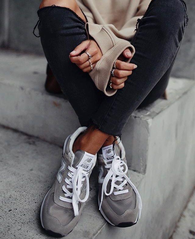 buy popular 5ff29 4546b Pin by hah siu on My Style   Zapatillas casual mujer, Zapatillas beige,  Zapatillas casual