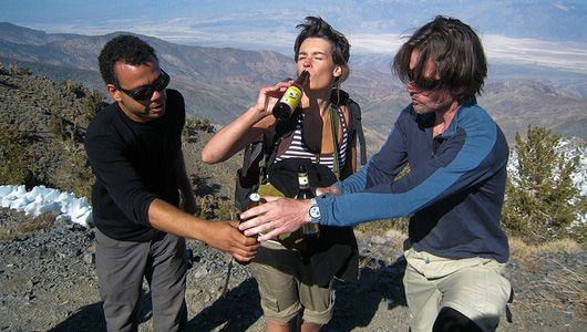 Creative ways to backpack with booze