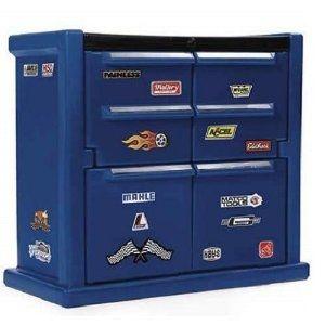 Beau Lightning McQueen Tool Chest Dresser