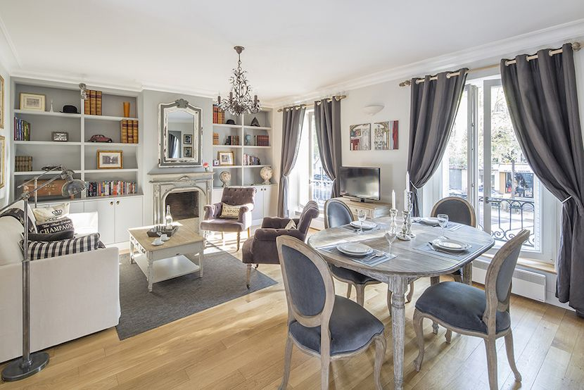 Beaujolais Is A 2 Bedroom Apartment Rental With An Eiffel Tower View  #Parisin