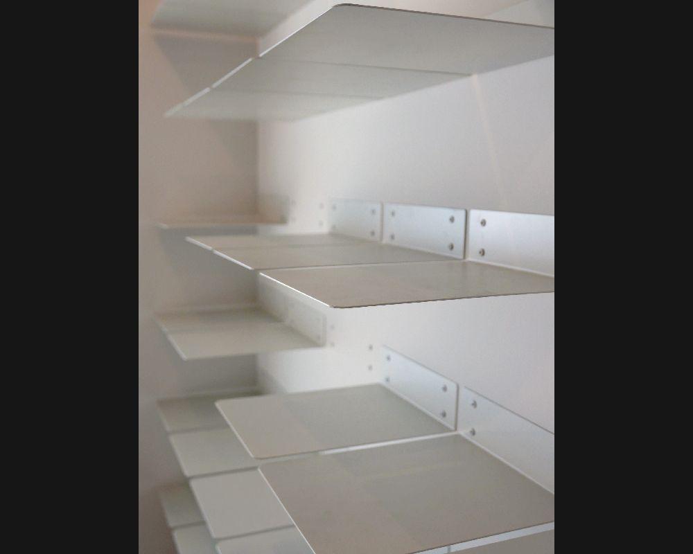 Entrance Shoes Shelf | 玄関 スチール 下足棚板 [オリジナル] | FIELD LABO