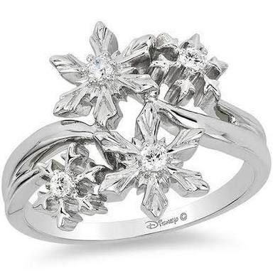Zales Enchanted Disney Elsa 1 10 Ct T W Diamond