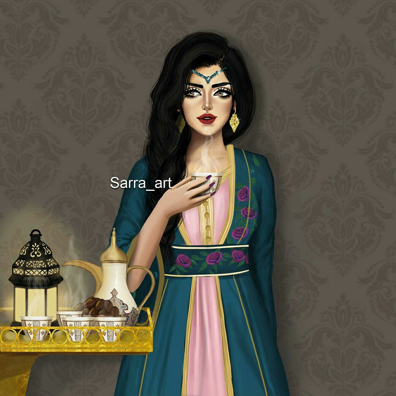 Pin By Allister Camher On Wallpapers Beautiful Girl Drawing Cute Girl Drawing Islamic Girl