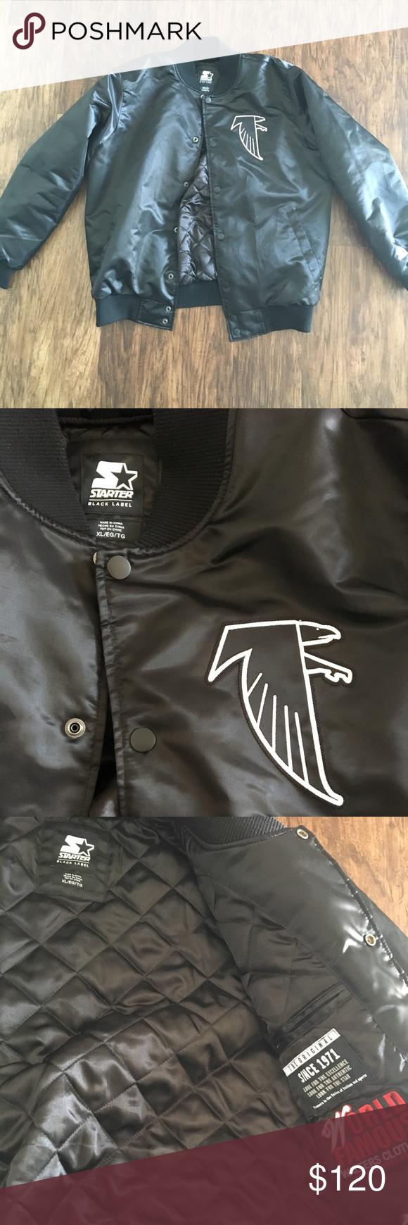 Atlanta Falcons Vintage Starter Jacket Xl Ltd Ed Walters Edition Atlanta Falcons Jacket Walter Is An Atlanta L Atlanta Falcons Vintage Staple Sneakers Jackets [ 1740 x 580 Pixel ]