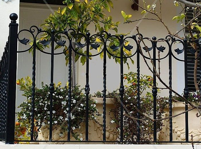 Super Gates And Fences Design In Wrought Iron Lanewstalk Com Largest Home Design Picture Inspirations Pitcheantrous