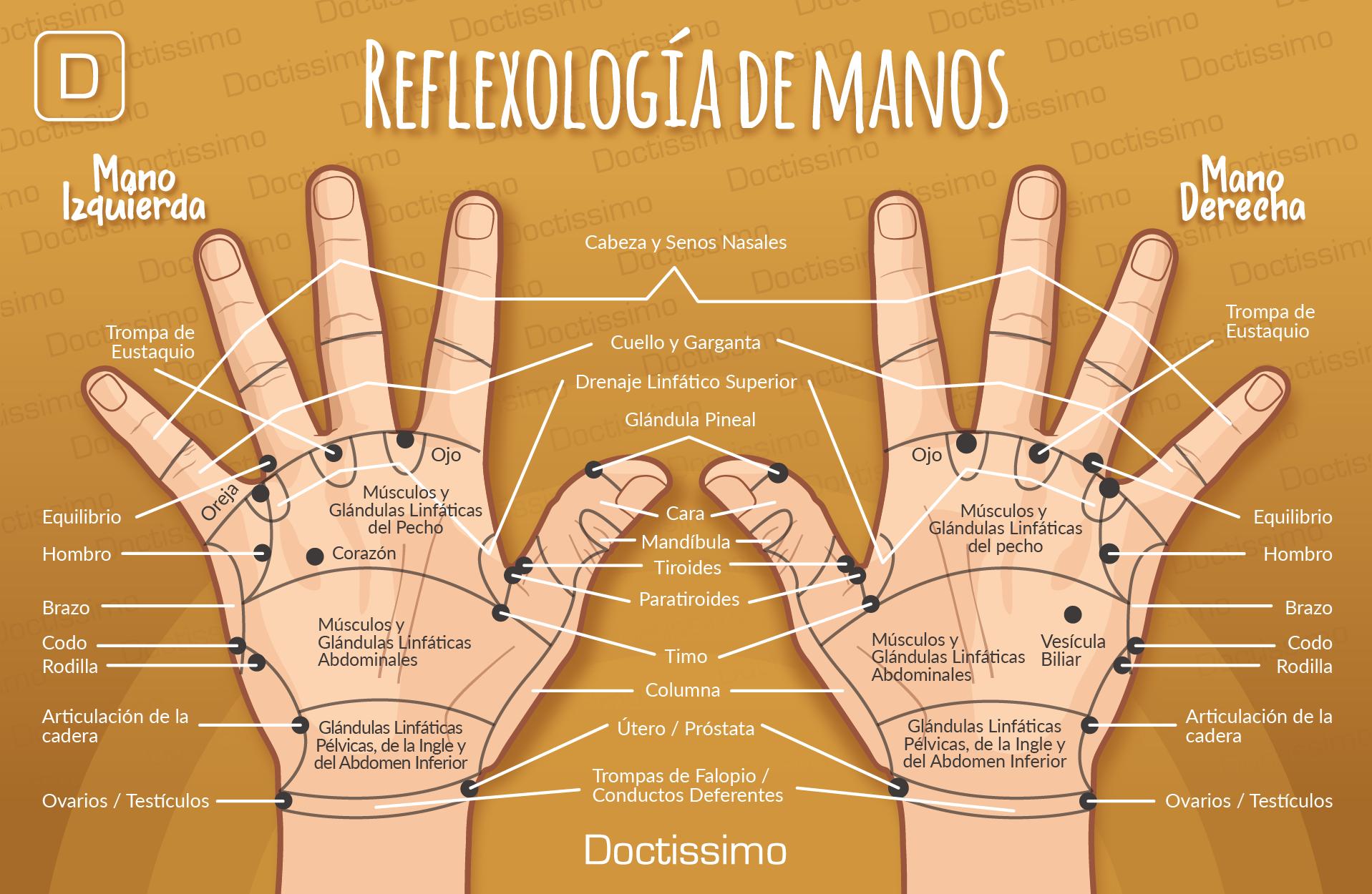 Reflexología de manos: hazlo tú mismo en 10 pasos.  #bienestar #reflexología #tranquilidad #estrés