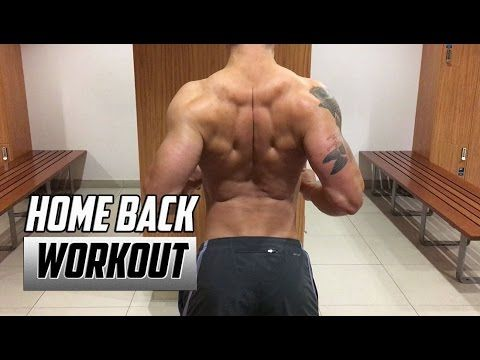 home back workout  no equipment  back exercises at home
