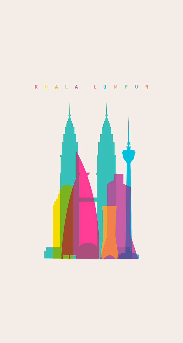 Kuala Lumpur 2015 The Kids Are Going To Love It City Illustration Poster Design City Logo