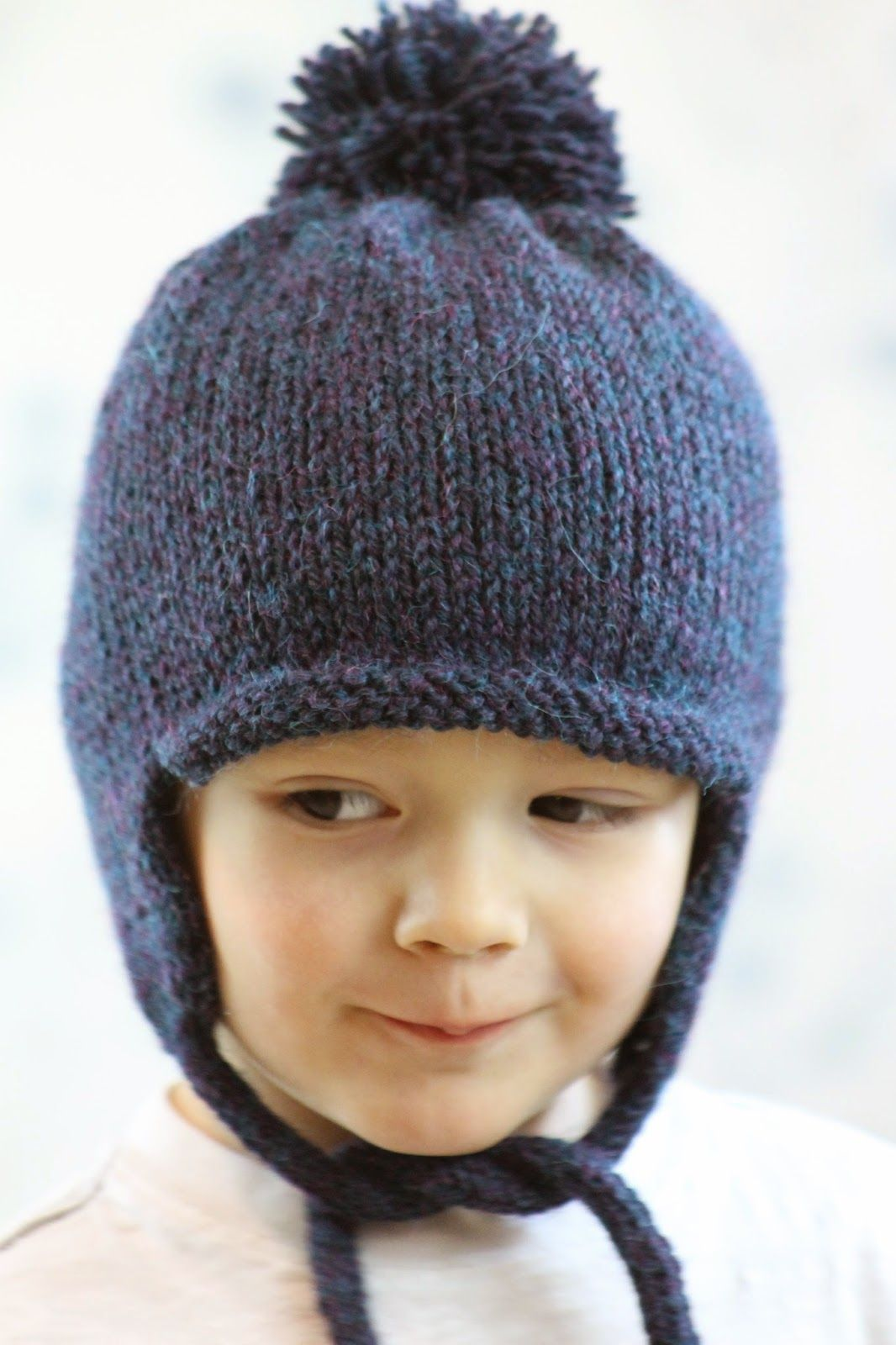 All in the Family Earflap Hat | Baby hats knitting ...