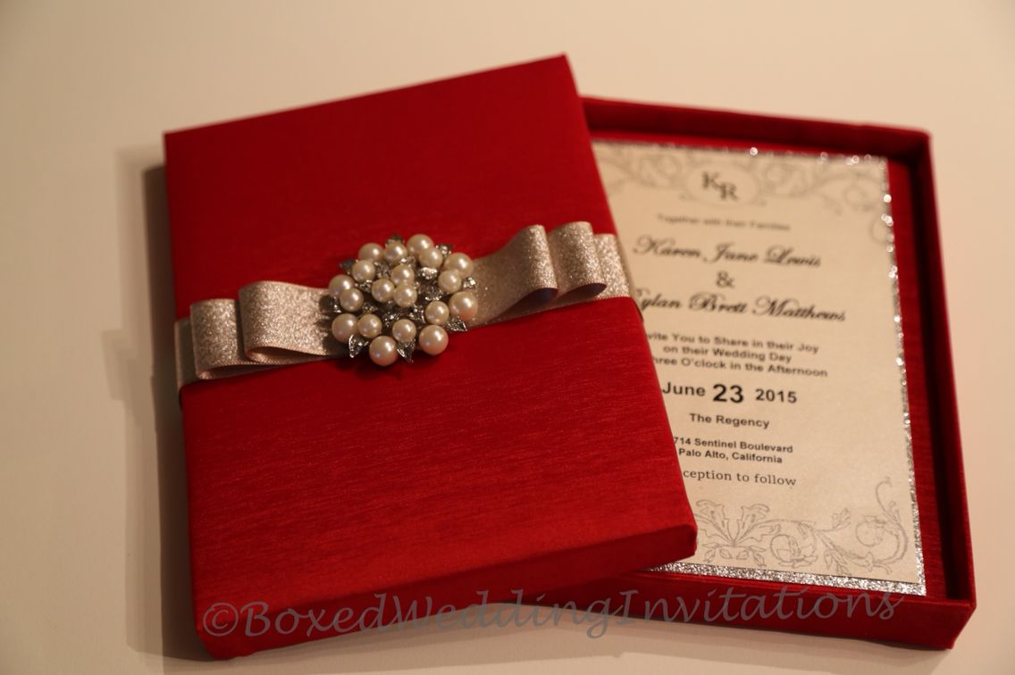 We Made These Gorgeous Wedding Invitation Bo Cards For An Indian Bride
