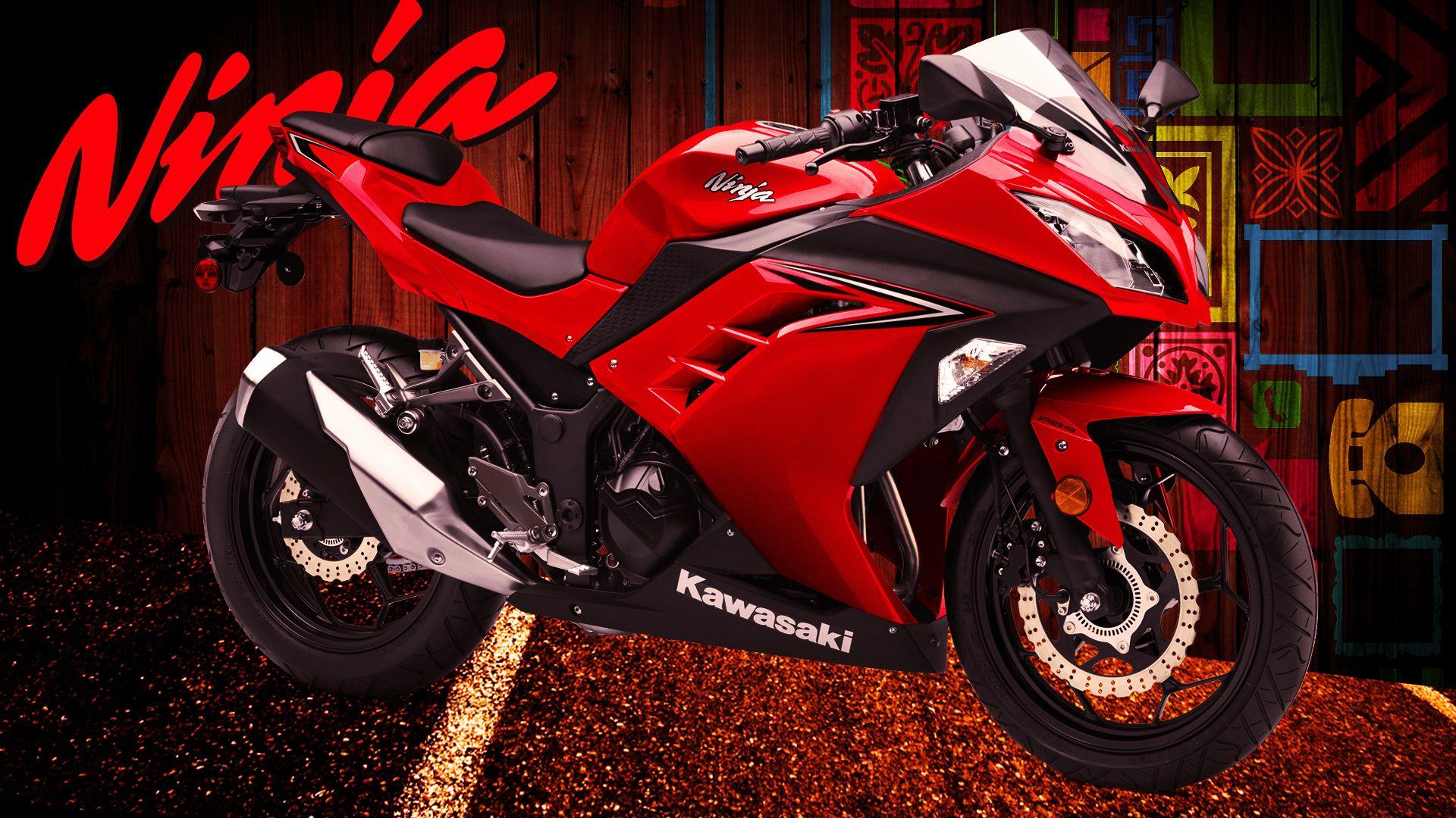 Wallpaper Kawasaki Ninja300 Wallpaper Kawasaki Ninja 250 Fi