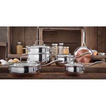 The Pioneer Woman Copper Charm 10 Piece Stainless Steel Copper