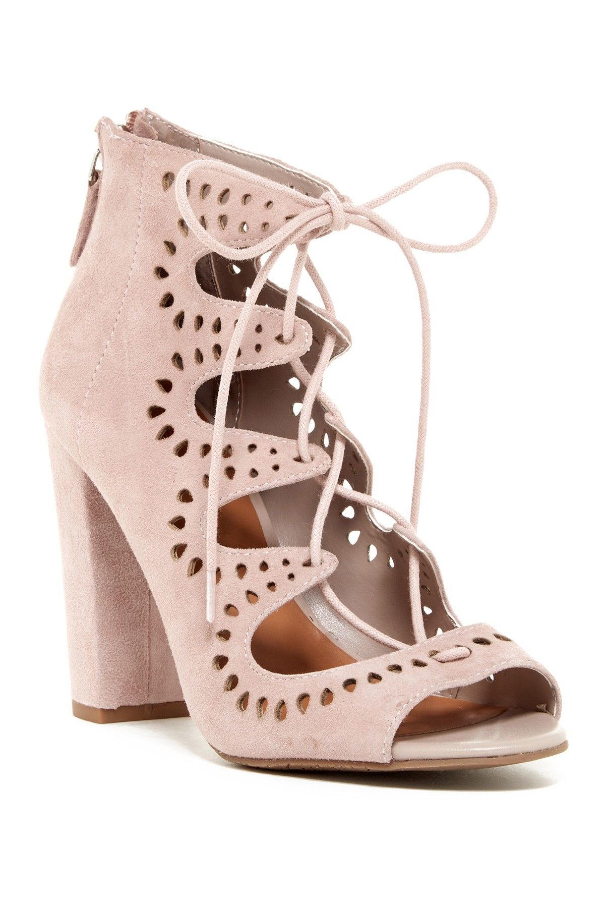b23ba4eaeb71df Cecily Laser Cut Sandal - Wide Width Available