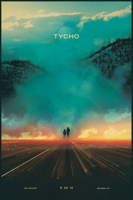 Tycho (via Posters) in Typography