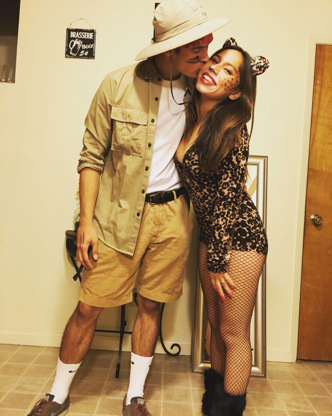 safari explorer and a cheetah   Halloween Costumes Tips ...
