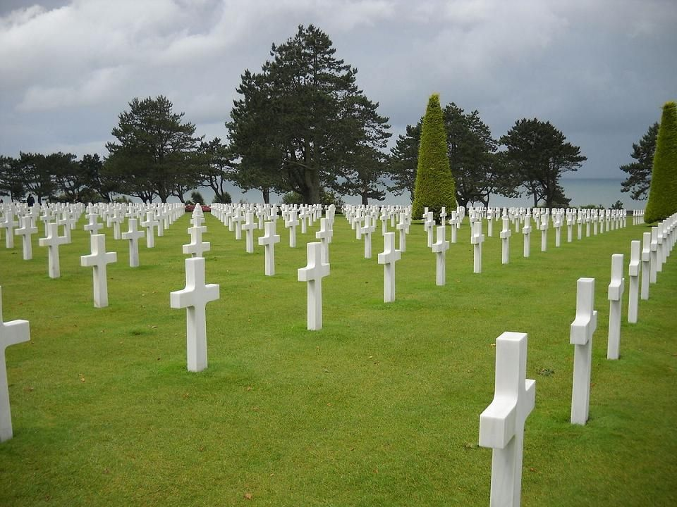 Normandy American Cemetery June 6, 1944 Freedom is not Free.