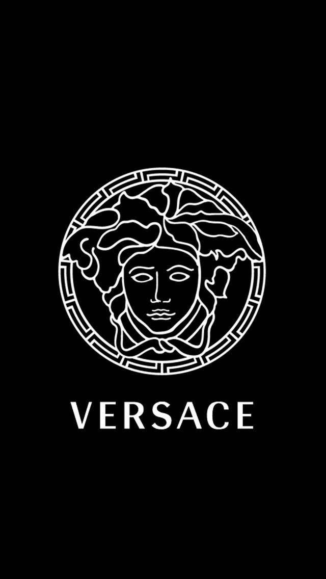 versace black wallpaper iPhone android wallpaper Pinterest