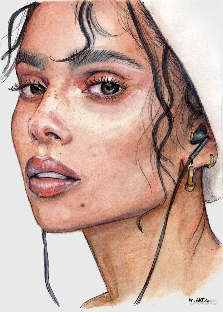 76 Best Watercolor portraits images in 2020 | Watercolor portraits, Watercolor paintings, Watercolor