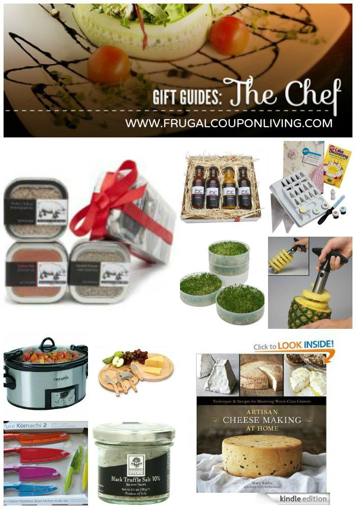 The Chef Gift Guide for the Christmas and Holiday Season #giftguide #holiday @Amazon.com