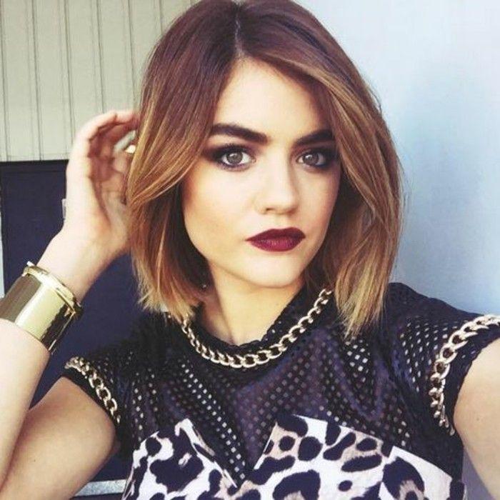 Belle coupe de cheveux tendance