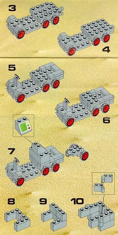 Space Mobile Tracking Station Lego 452 Lego Pinterest Lego