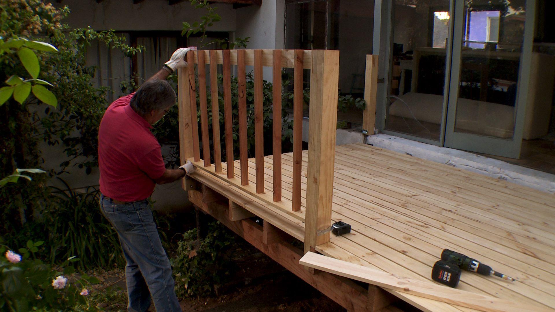 Los Deck Pueden Tener Diferentes Alturas En Este Caso